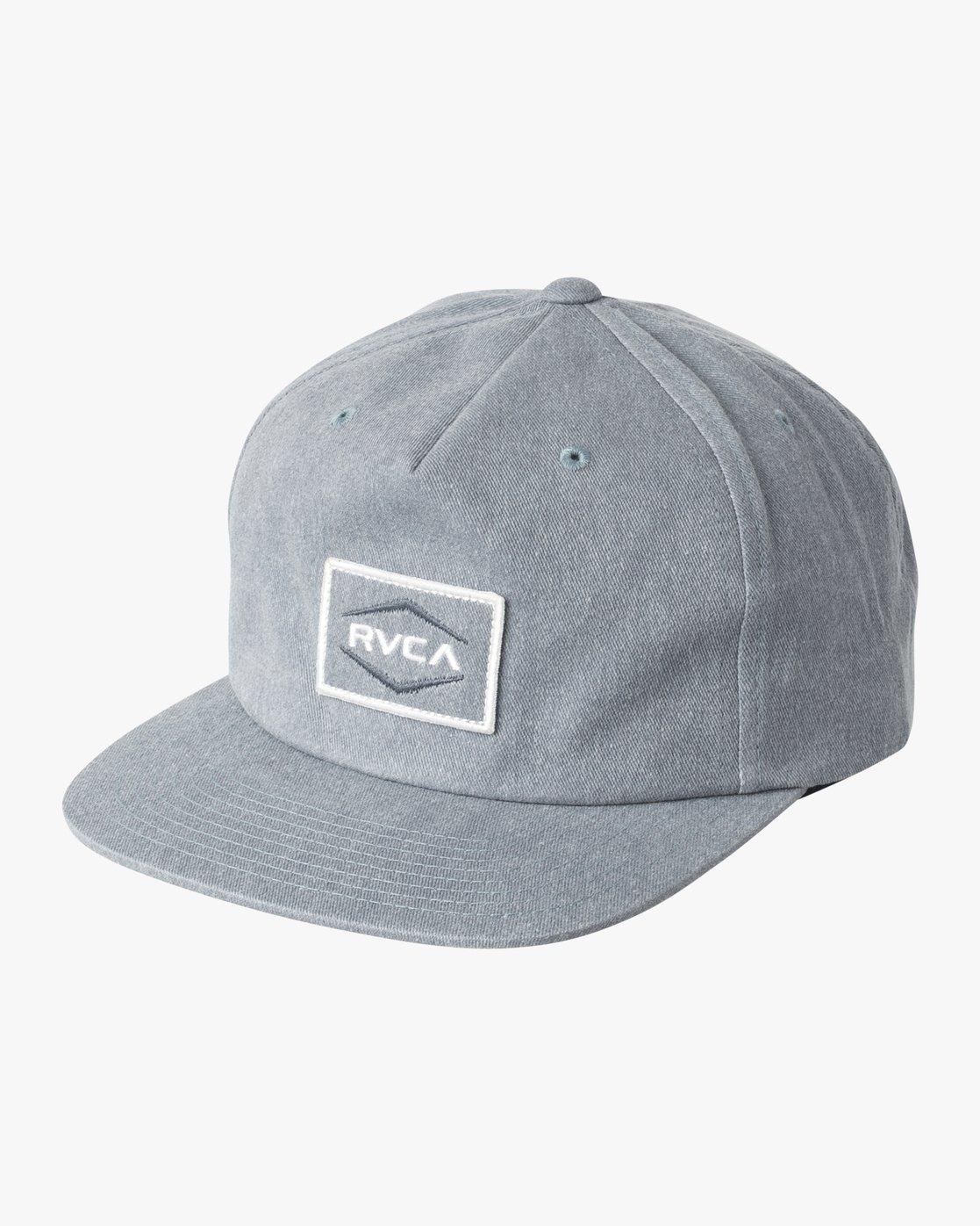 0 Pints Snapback Hat Blue MAHWVRPS RVCA