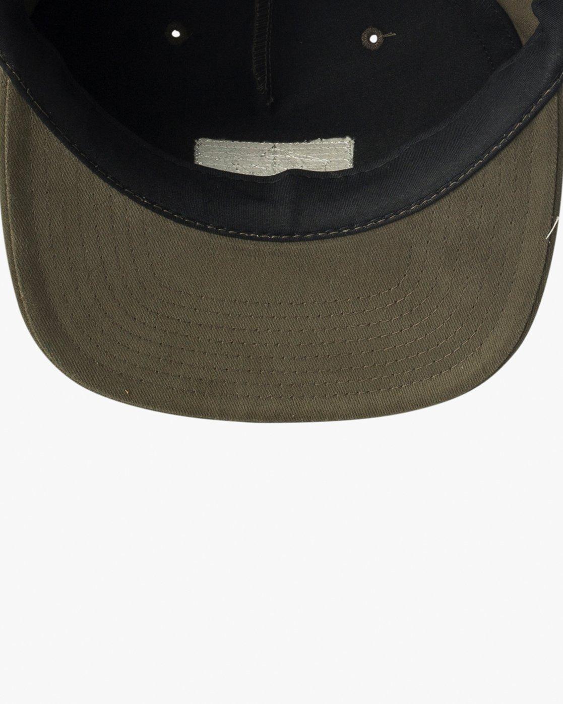 2 Pints Snapback Hat Green MAHWVRPS RVCA