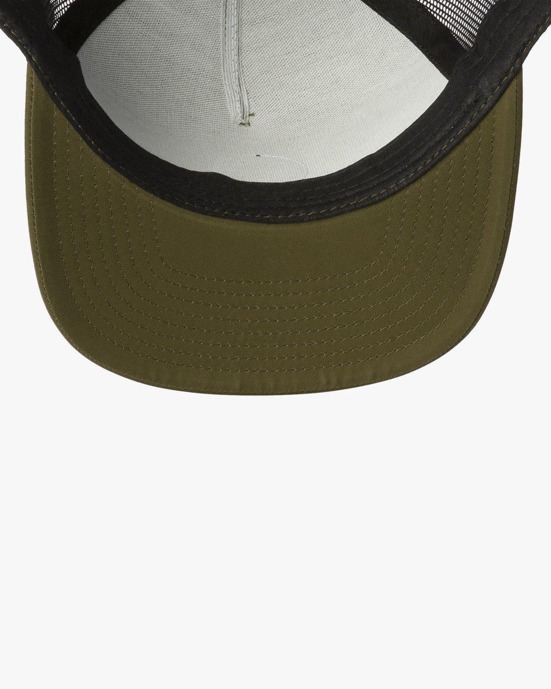 2 RVCA Sphere Trucker Hat Green MAHWVRRS RVCA