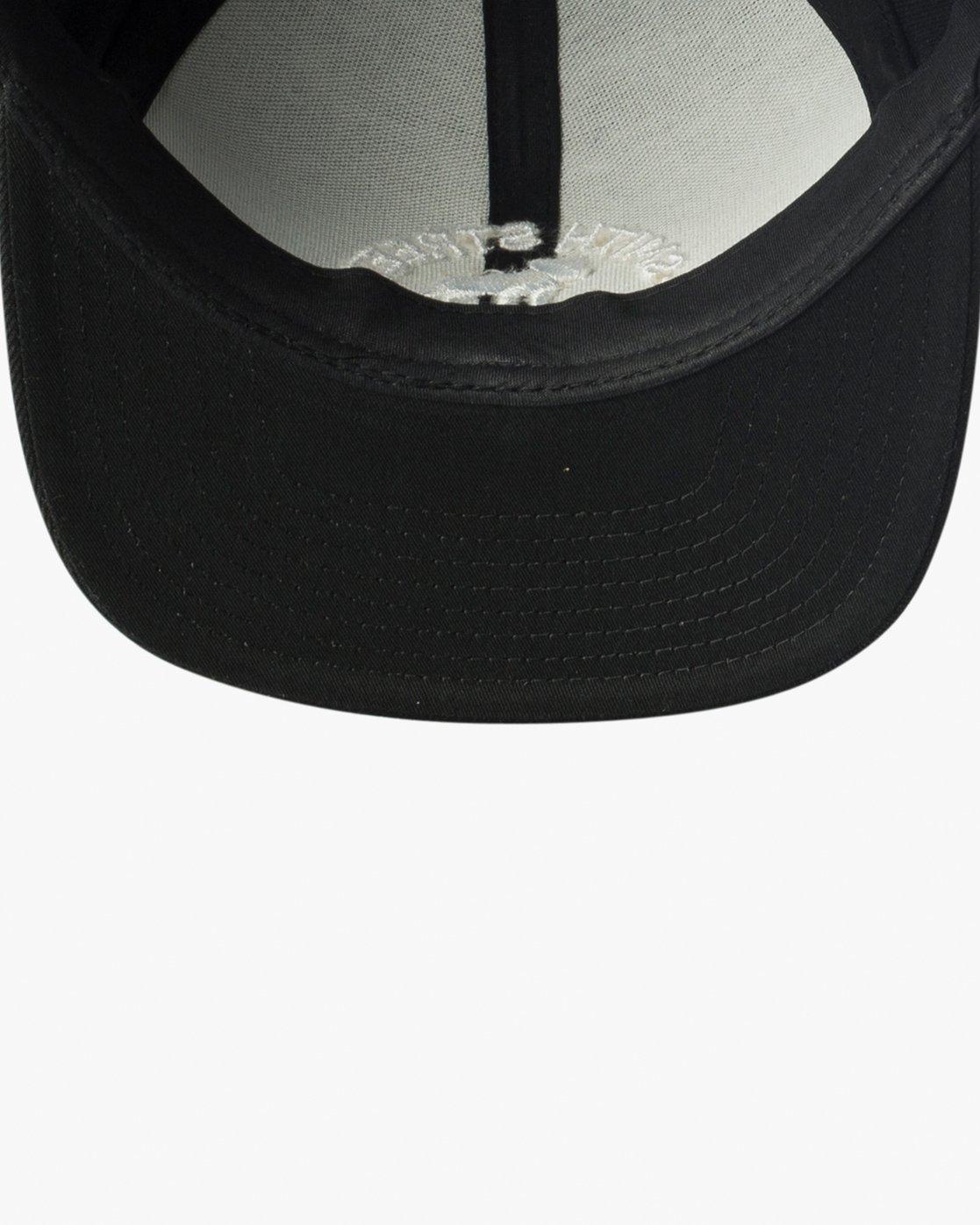 2 Smith Street Snapback Hat Black MAHWVRSM RVCA
