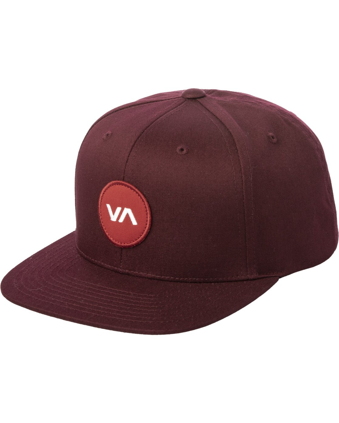 0 VA PATCH SNAPBACK HAT Purple MAHWVRVP RVCA