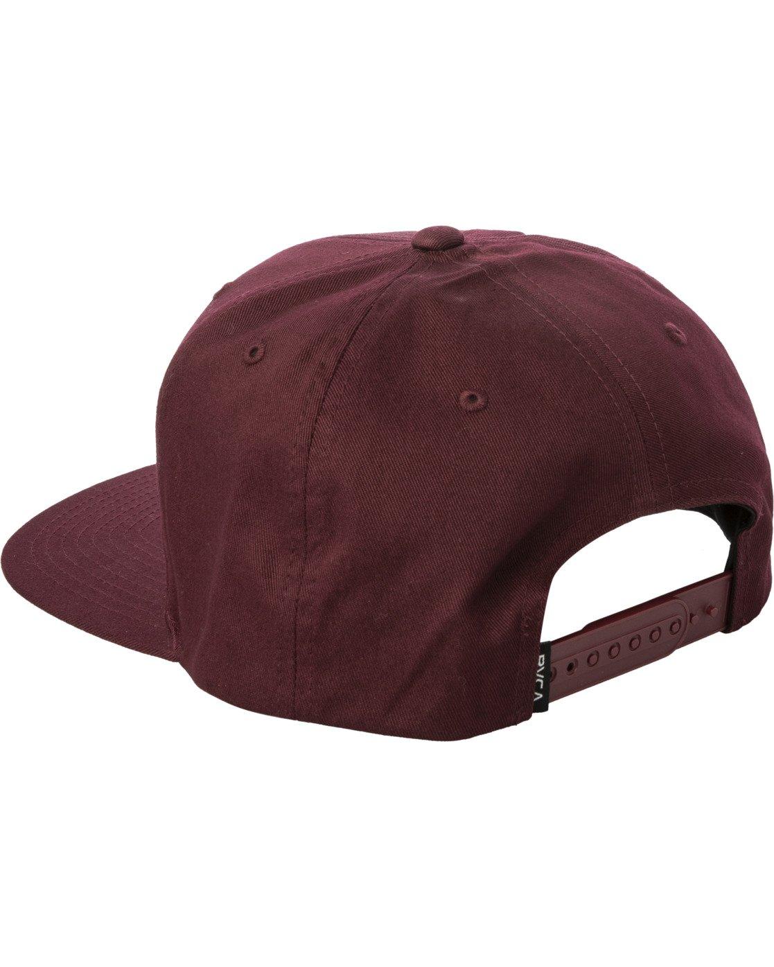 2 VA PATCH SNAPBACK HAT Purple MAHWVRVP RVCA