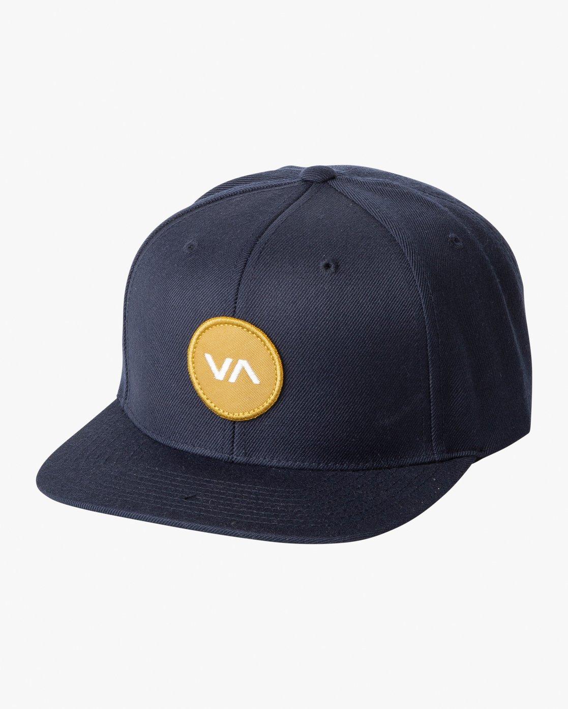 0 VA Patch Snapback Hat Brown MAHWVRVP RVCA