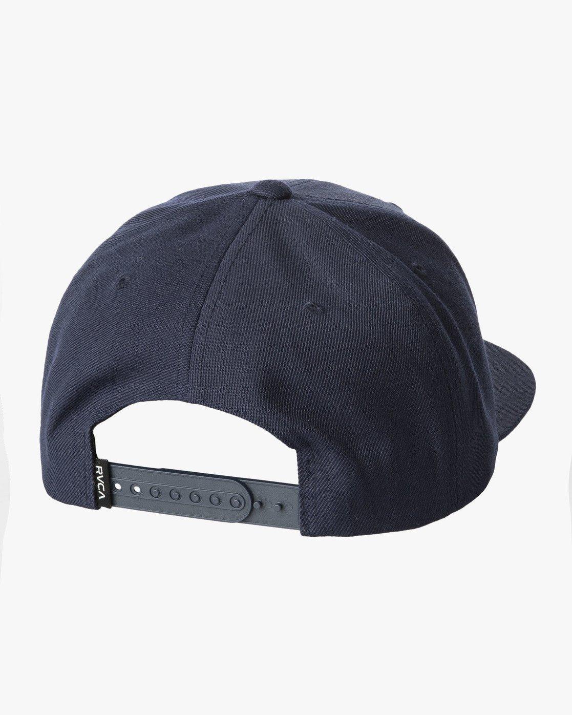 1 VA Patch Snapback Hat Brown MAHWVRVP RVCA