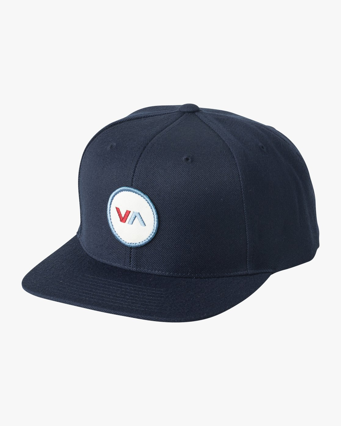 0 VA Patch Snapback Hat Blue MAHWVRVP RVCA
