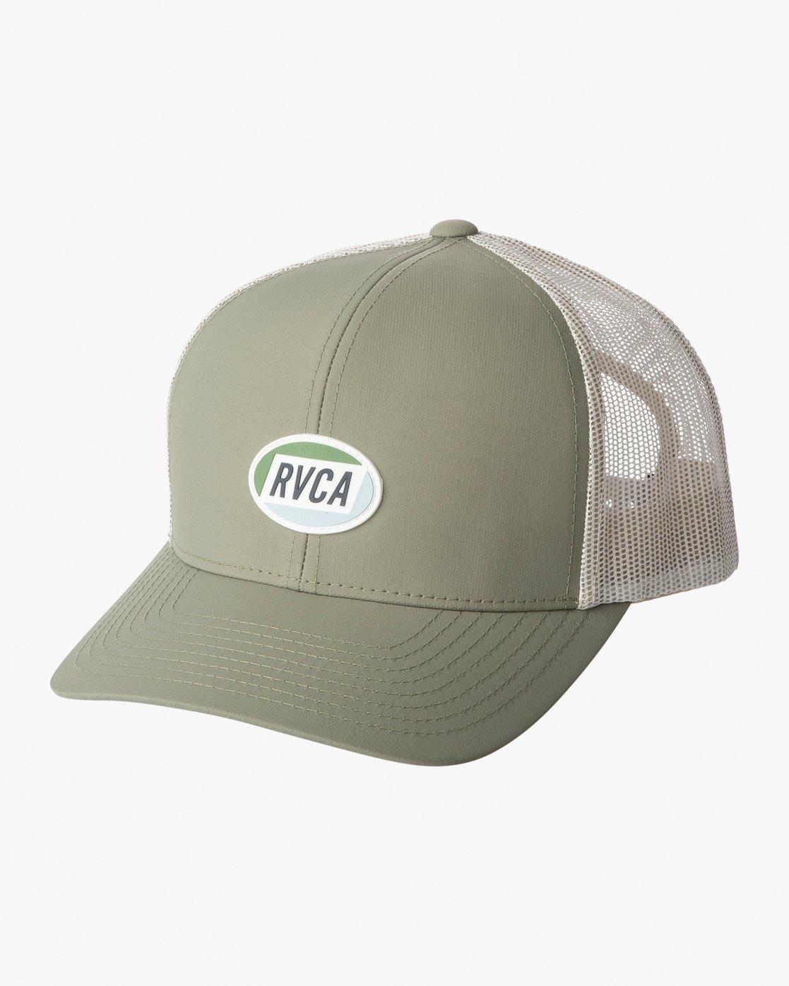 0 Cortex Trucker Hat Green MAHWWRCT RVCA