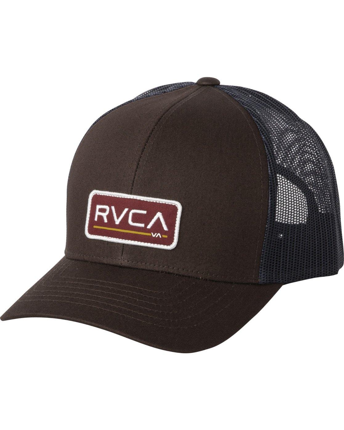0 TICKET III TRUCKER HAT Brown MAHWWRTT RVCA