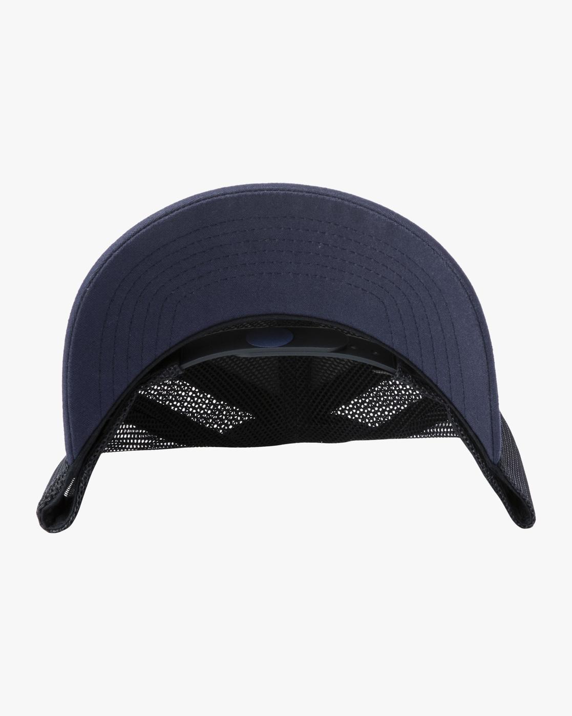 3 TICKET III TRUCKER HAT Blue MAHWWRTT RVCA