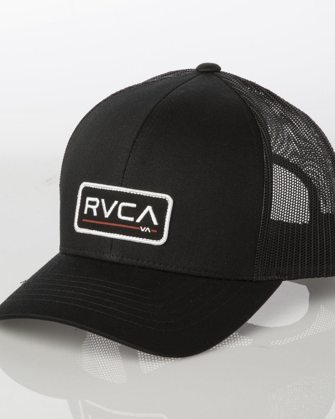 2 TICKET III TRUCKER HAT Grey MAHWWRTT RVCA