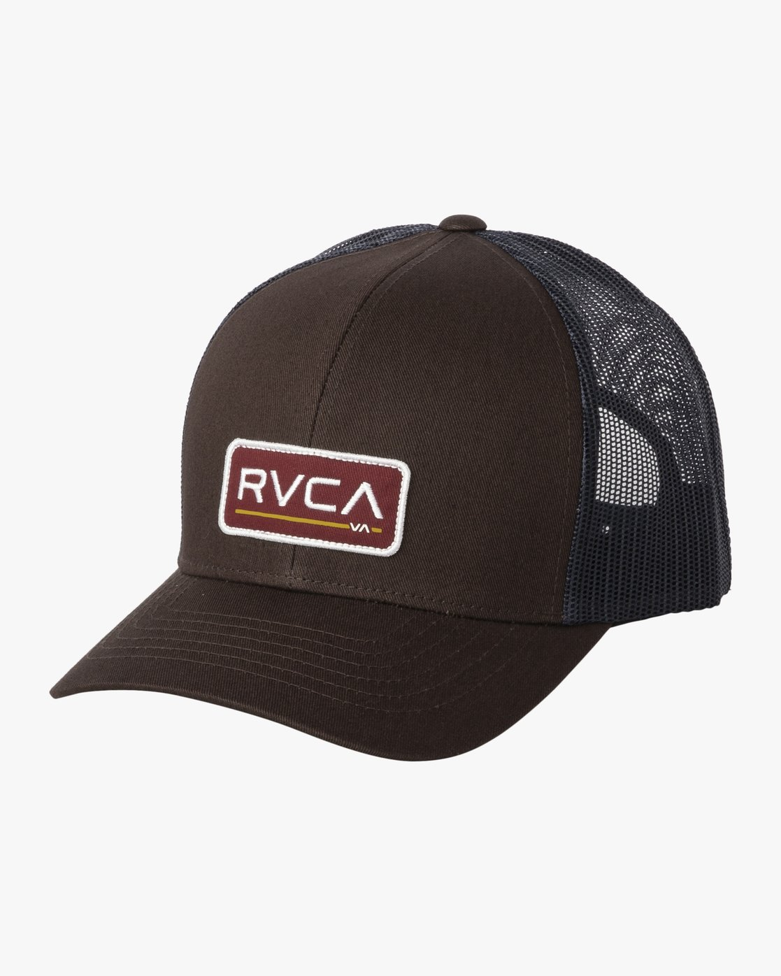 0 TICKET TRUCKER III HAT Brown MAHWWRTT RVCA