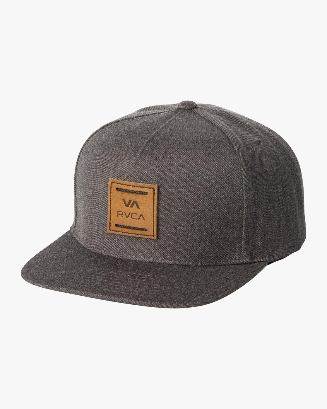 0 VA All The Way Snapback Hat Brown MAHWWRVS RVCA