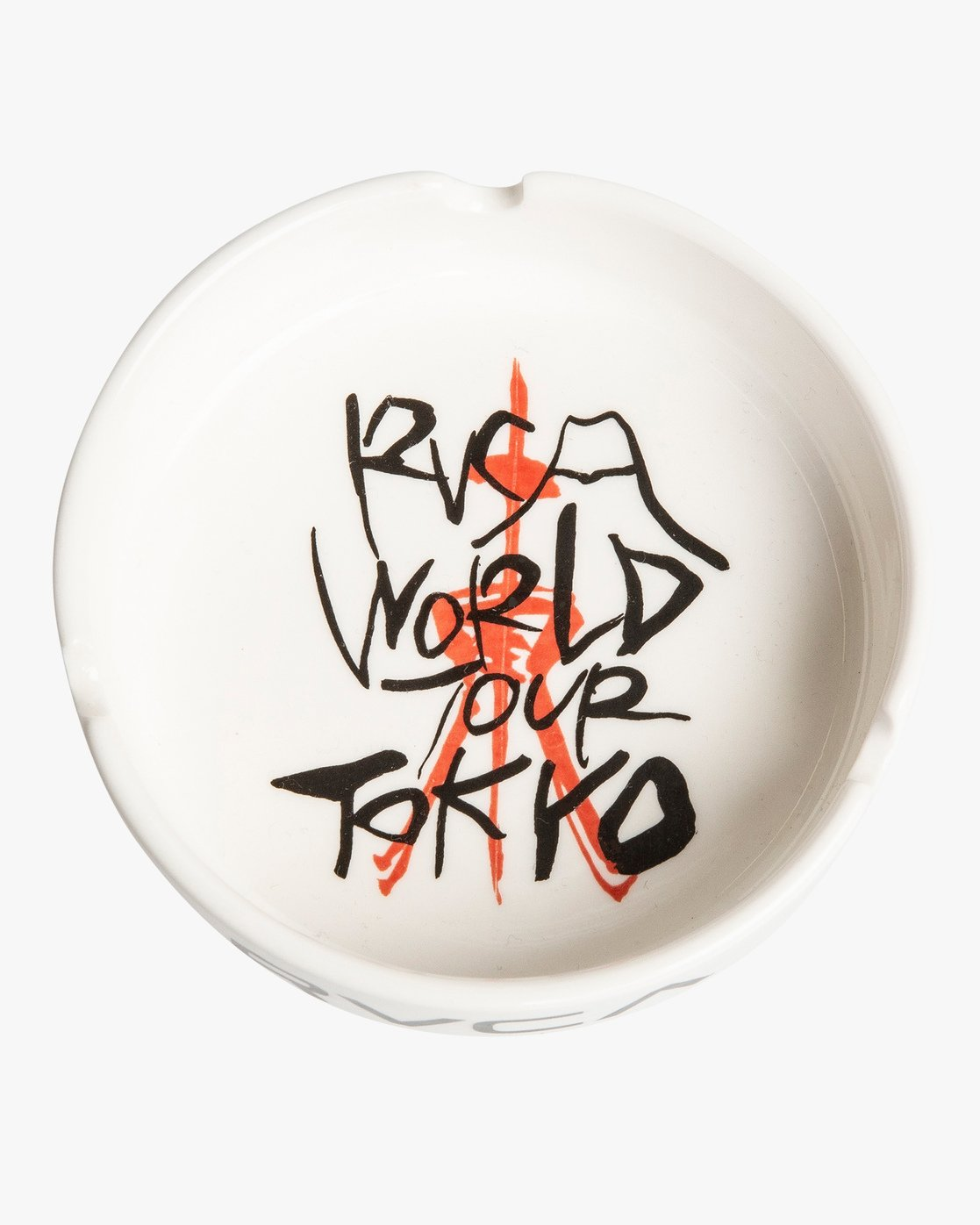 1 World Tour Ceramic Ashtray White MAMCVRWA RVCA