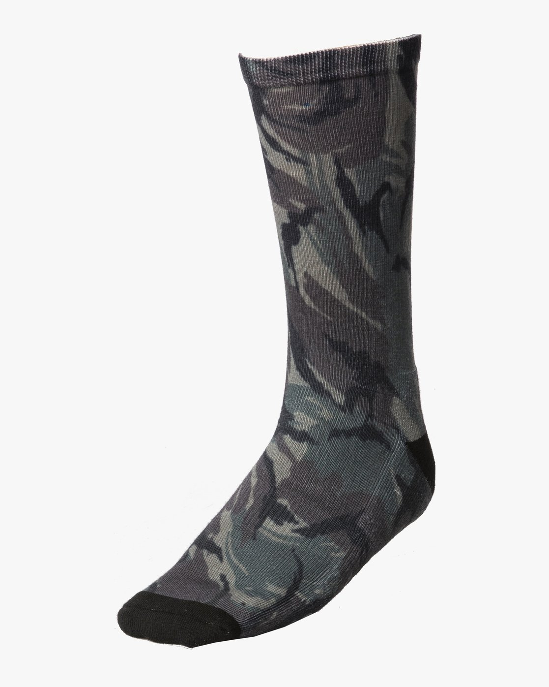 0 RVCA Print Socks Brown MASOQRPS RVCA