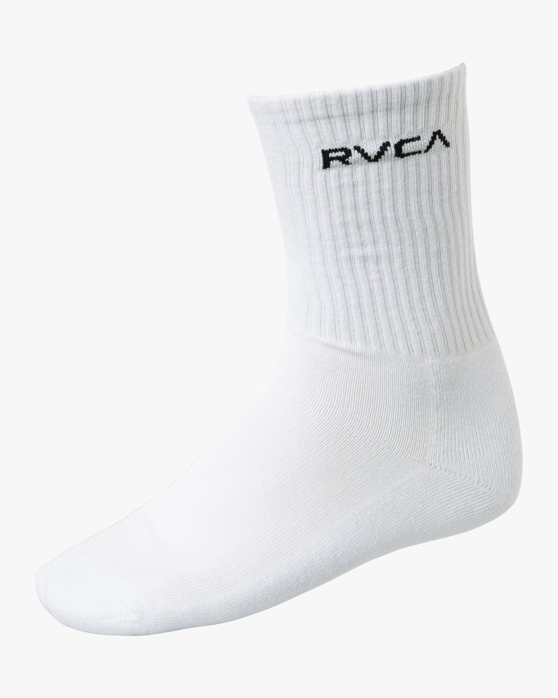1 Union Square Crew Socks White MASOTRUS RVCA