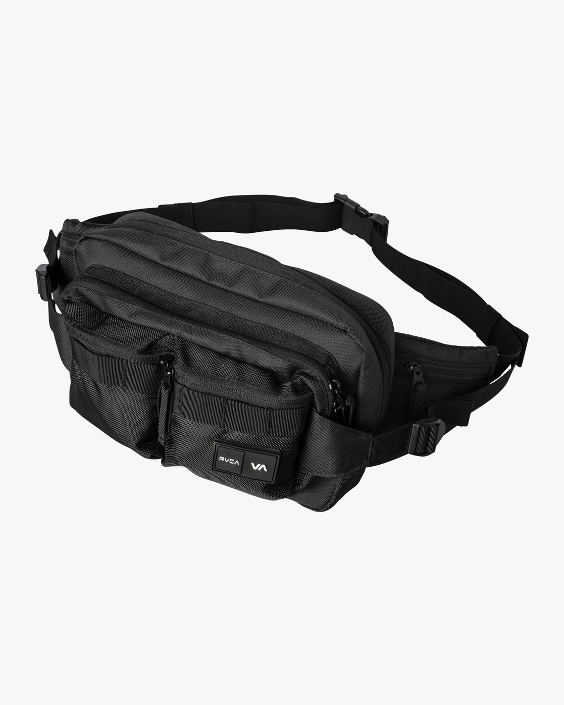 1 RVCA Waist Pack Deluxe Black MATVVRWD RVCA
