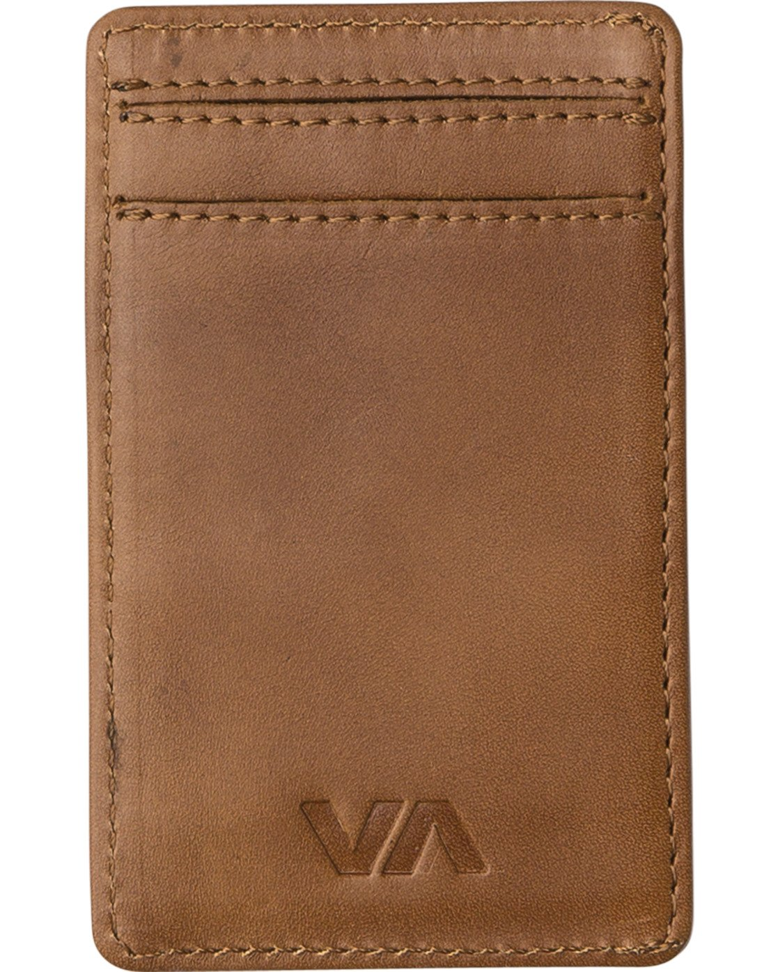 1 Clean Card Wallet Beige MAWAQRCW RVCA