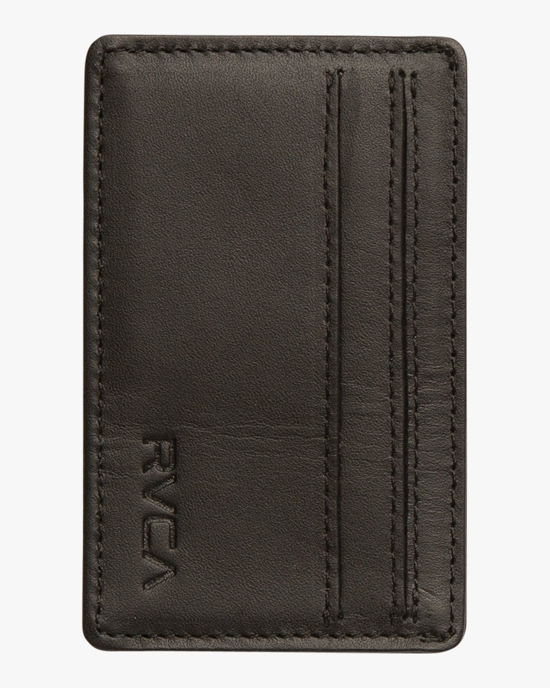 3 Clean Card Wallet Black MAWAQRCW RVCA