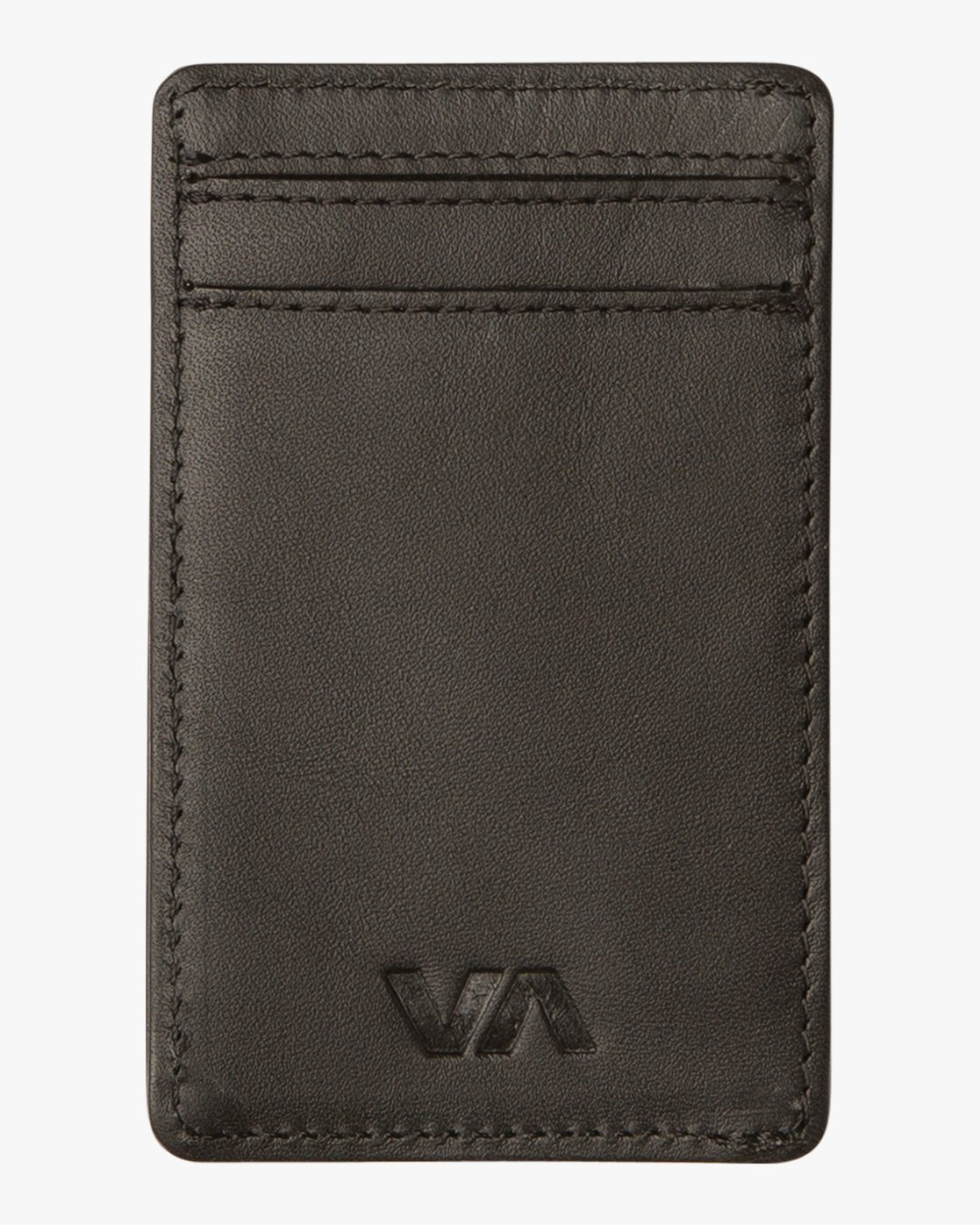 2 Clean Card Wallet Black MAWAQRCW RVCA