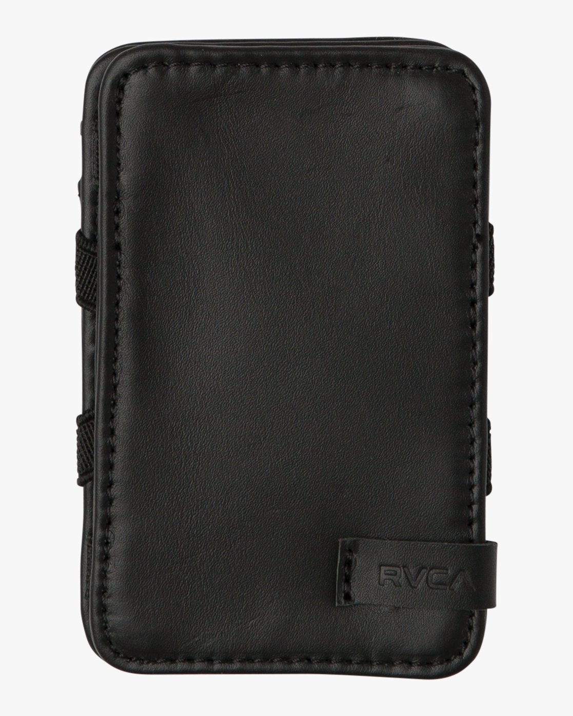 3 Leather Magic Wallet Black MAWASRML RVCA