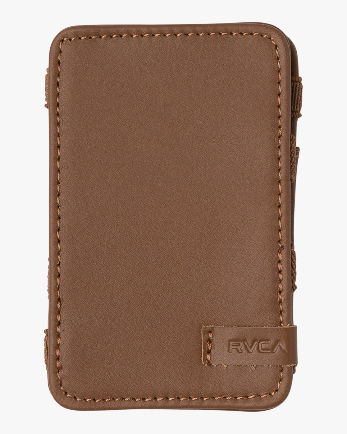 3 Leather Magic Wallet Beige MAWASRML RVCA