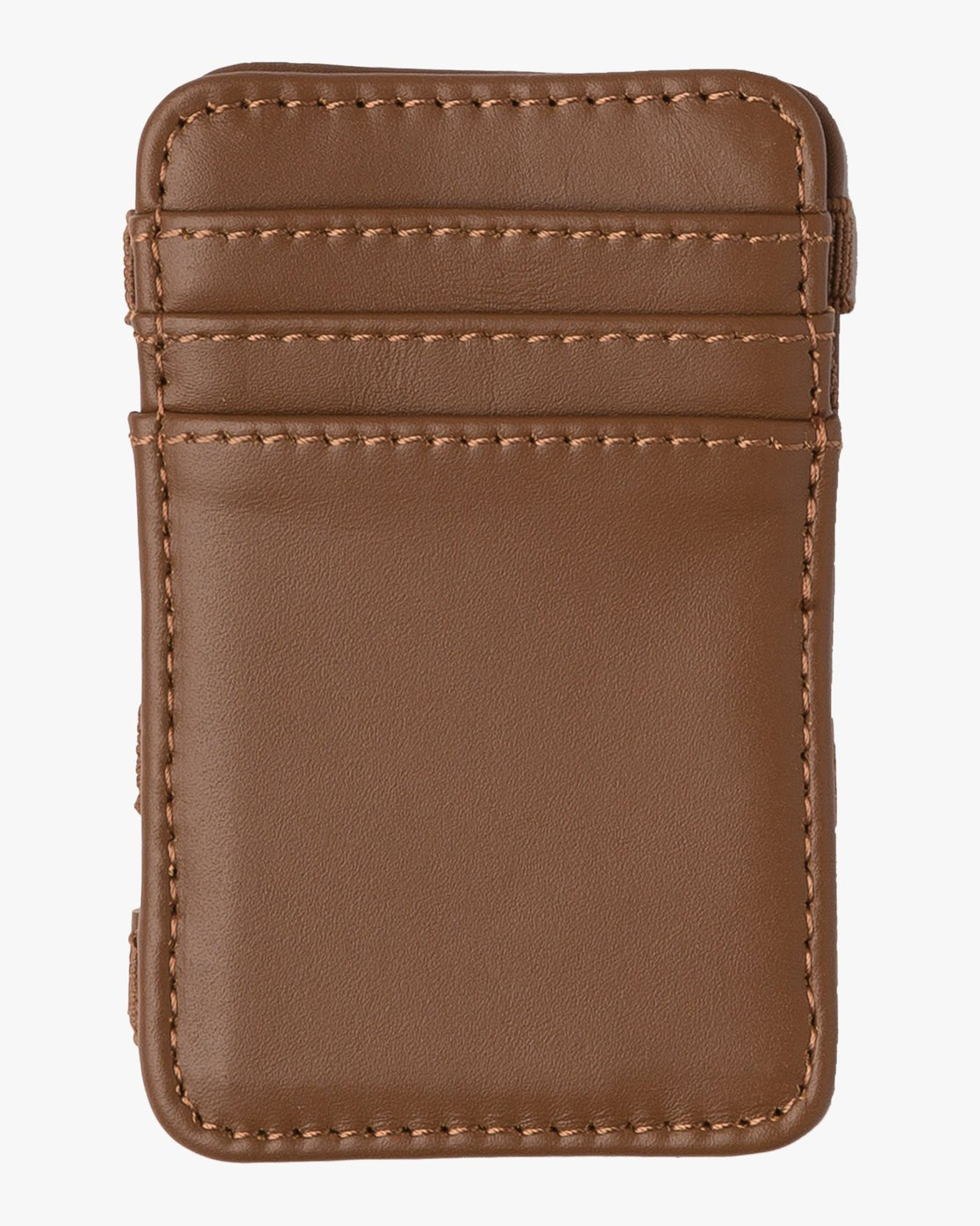 1 Leather Magic Wallet Beige MAWASRML RVCA