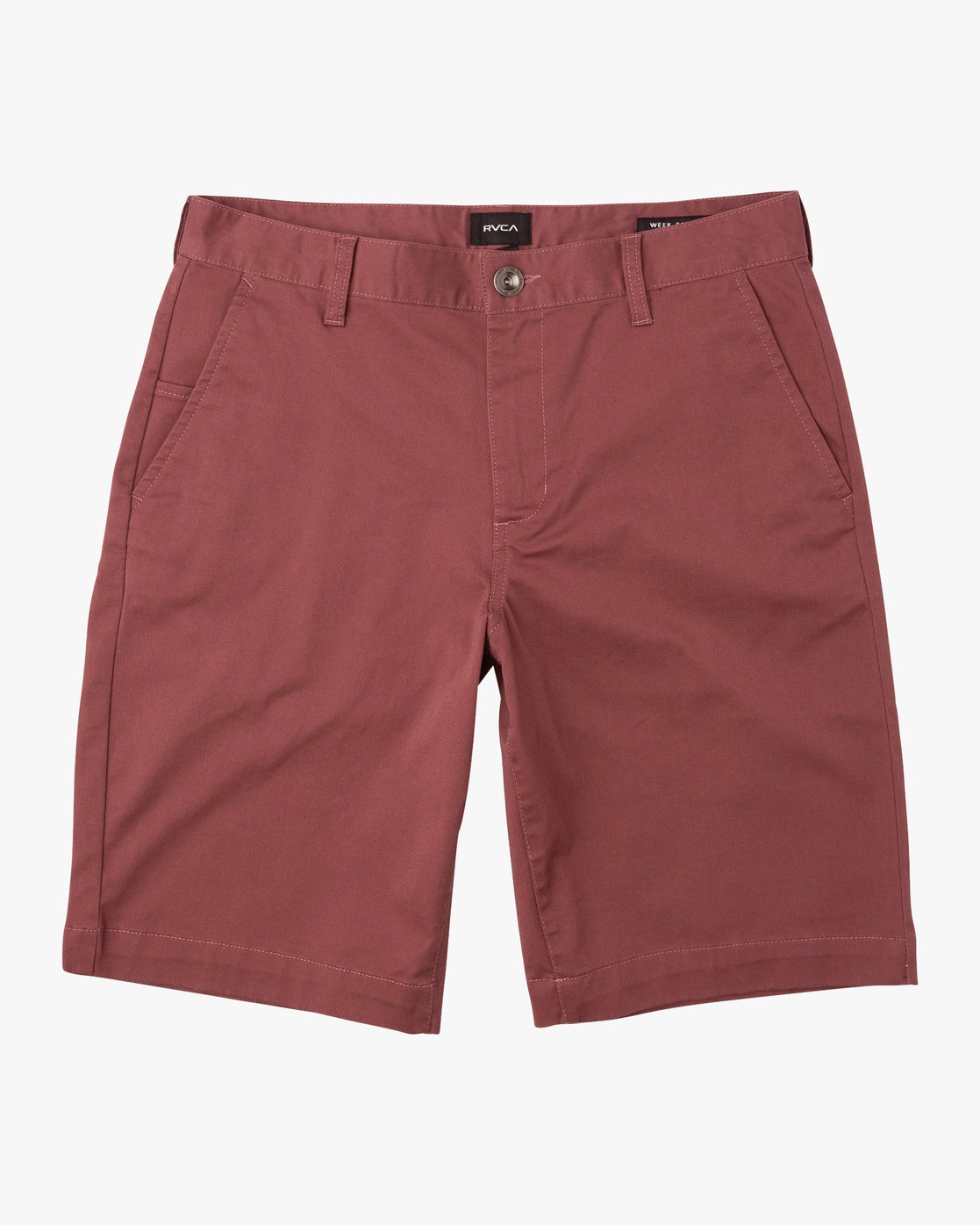 0 Week-End Stretch Shorts Purple MC202WKS RVCA