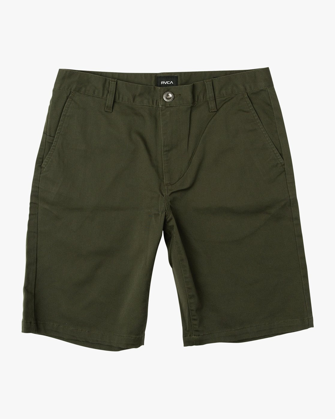 "0 WEEKEND 20"" STRETCH SHORTS Green MC202WKS RVCA"