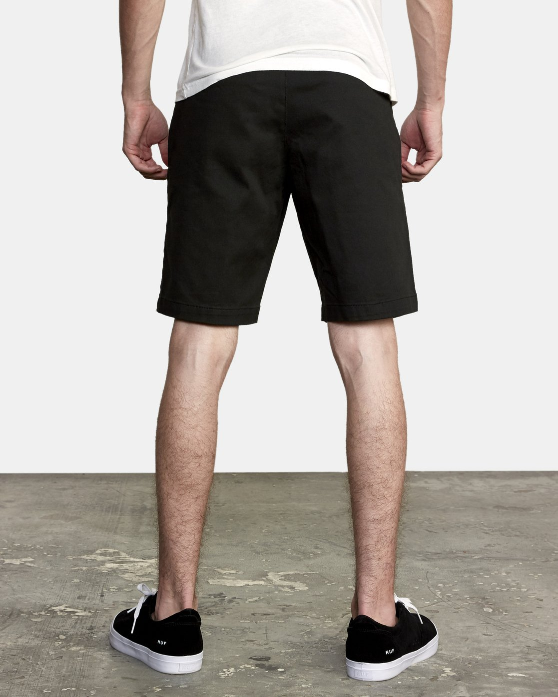 4 Week-End Stretch Shorts Black MC202WKS RVCA
