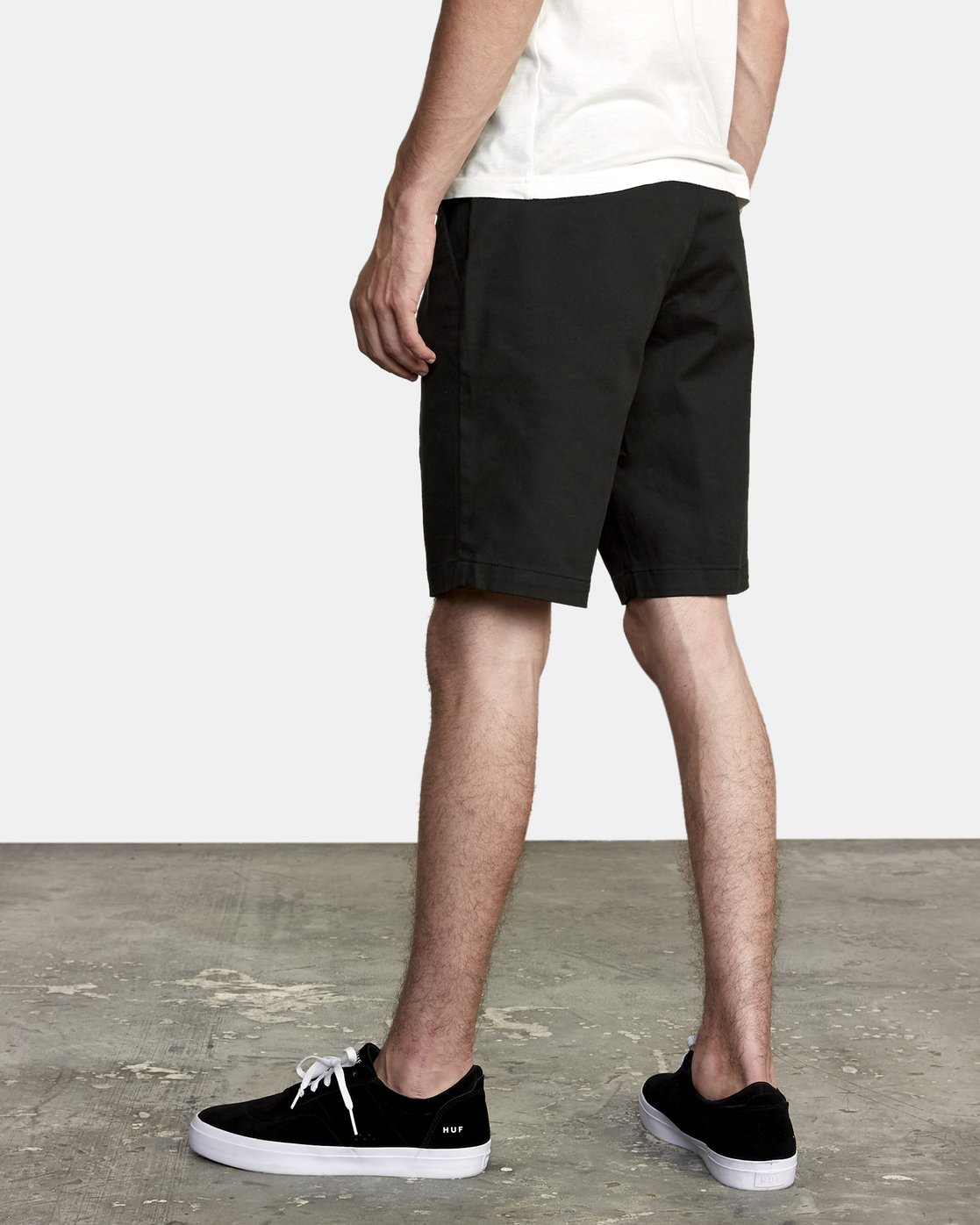 3 Week-End Stretch Shorts Black MC202WKS RVCA
