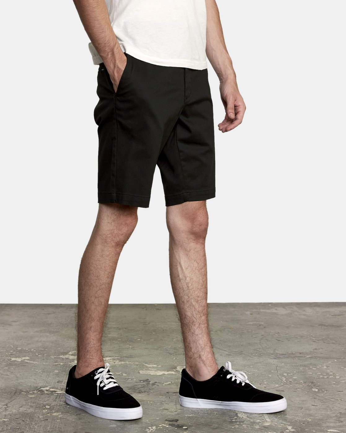 6 Week-End Stretch Shorts Black MC202WKS RVCA