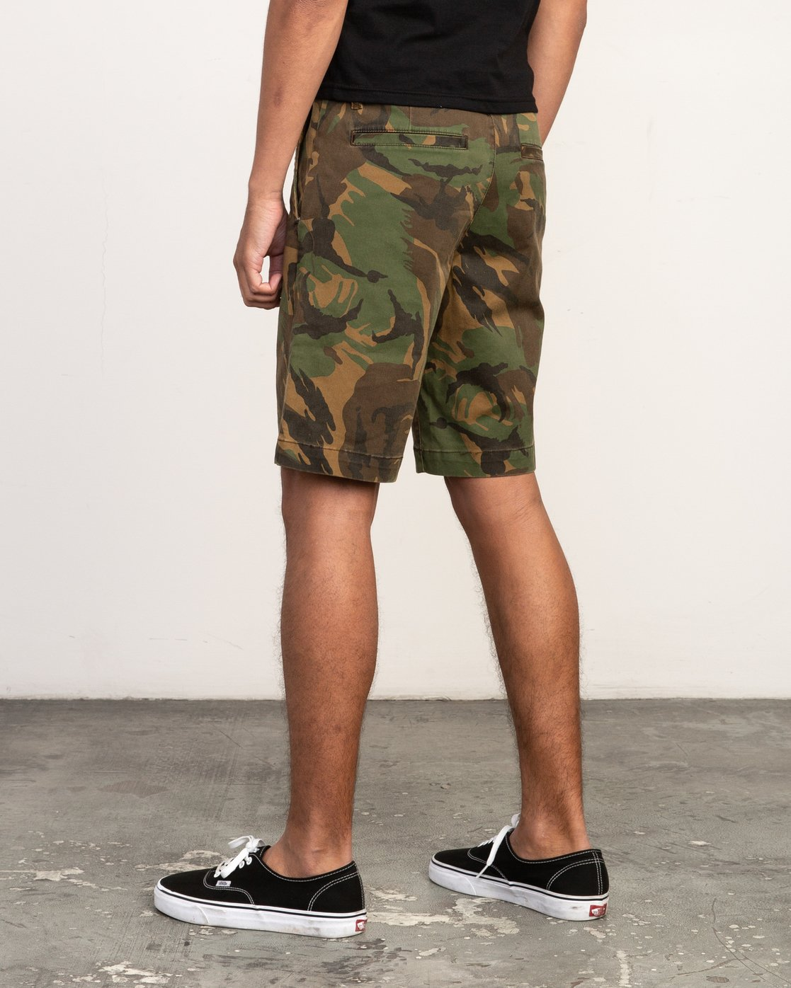3 Week-End Stretch Shorts Camo MC202WKS RVCA