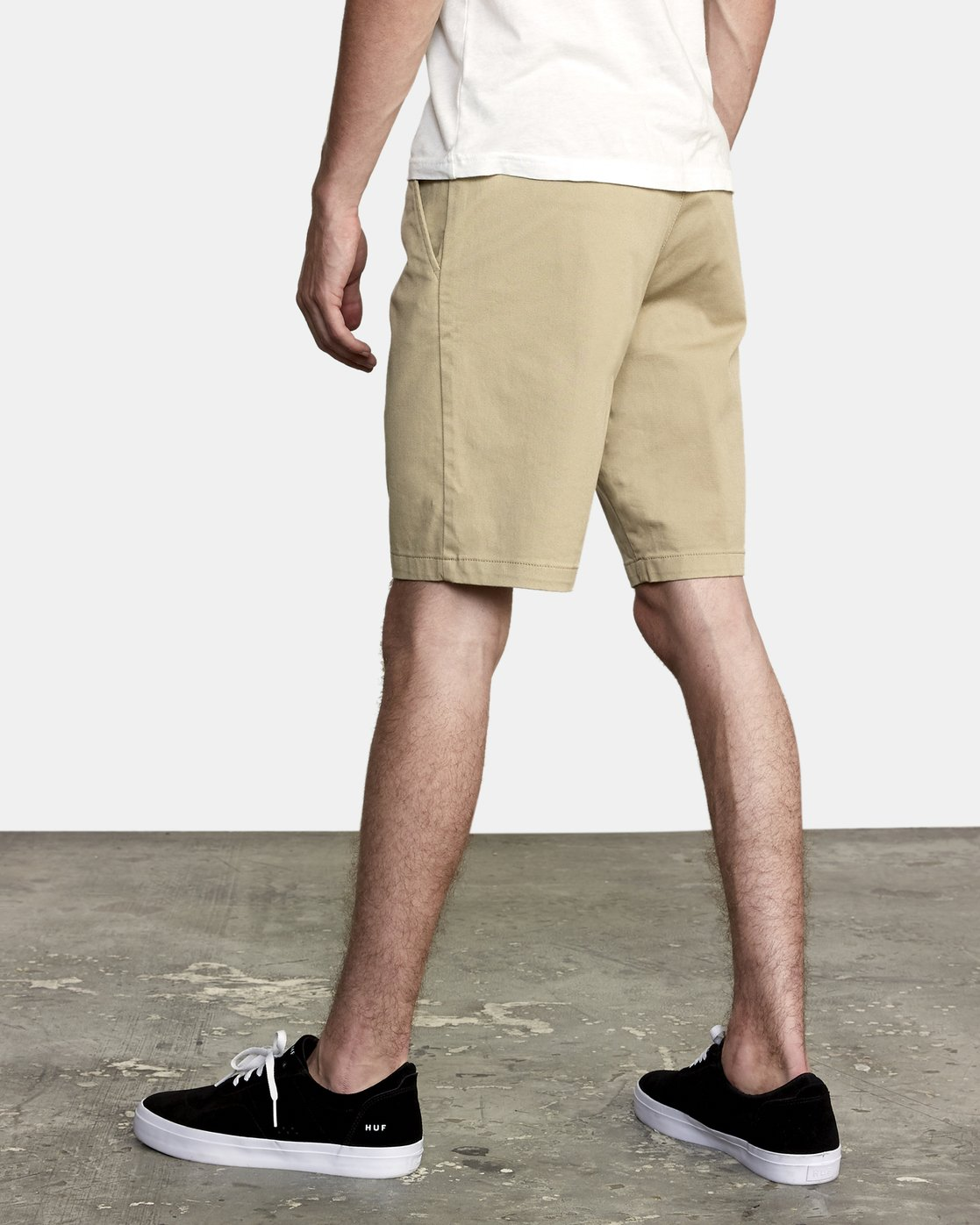 "3 week-end 20"" STRETCH SHORTS Beige MC202WKS RVCA"
