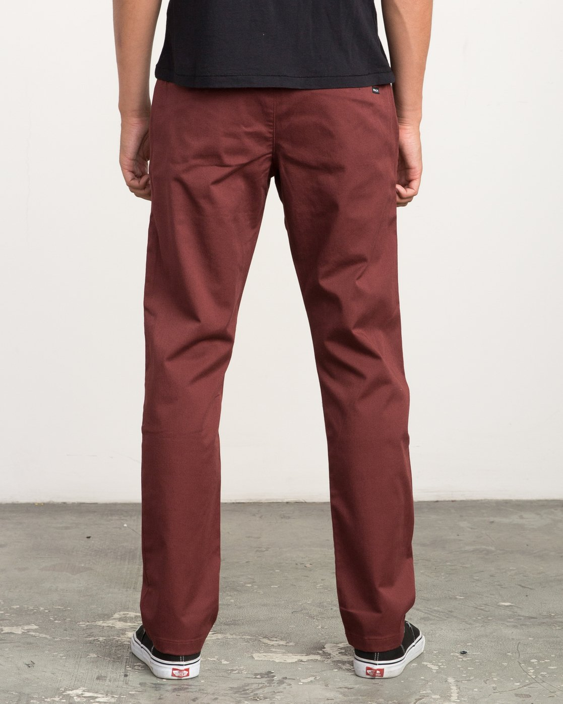 3 Week-end Stretch Pants Red MC303WST RVCA