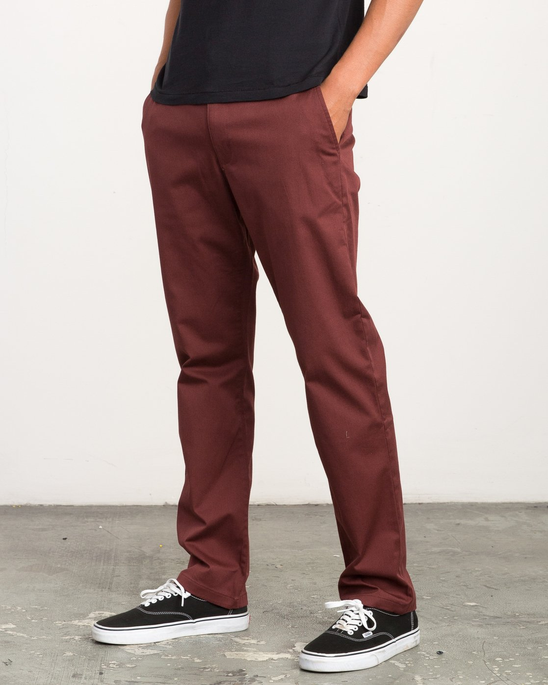 1 Week-end Stretch Pants Red MC303WST RVCA