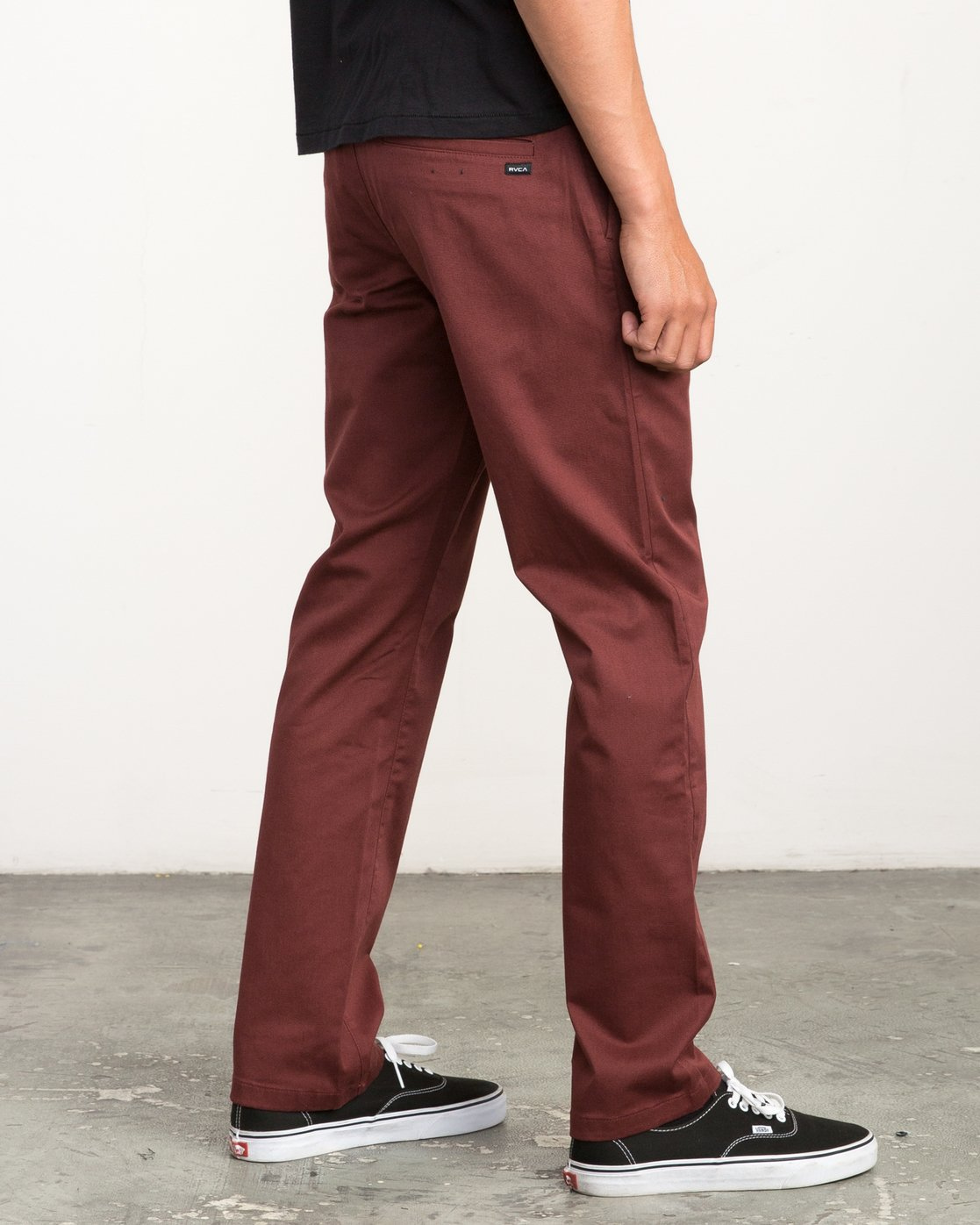 4 Week-end Stretch Pants Red MC303WST RVCA