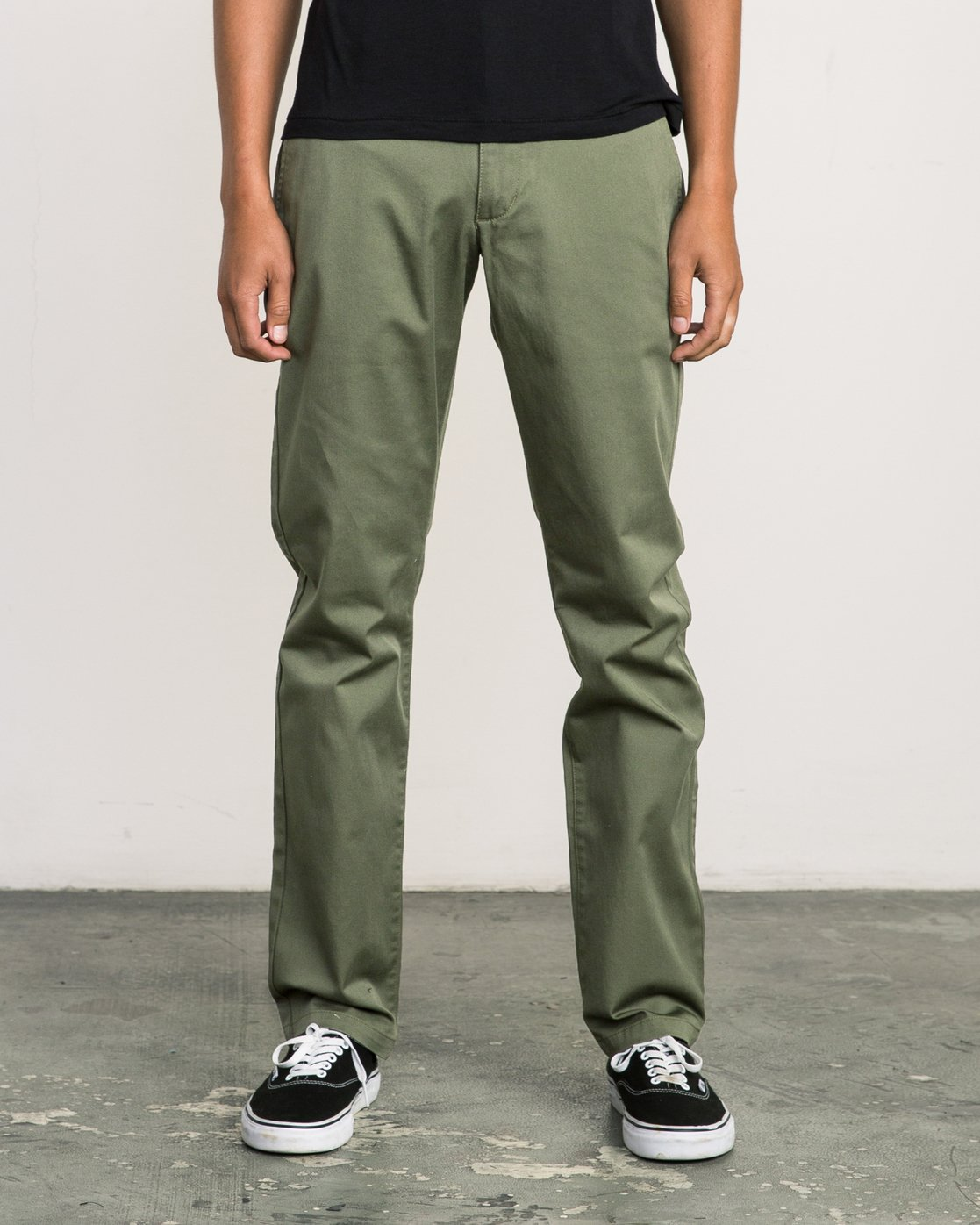 0 Week-end Stretch Pants Green MC303WST RVCA
