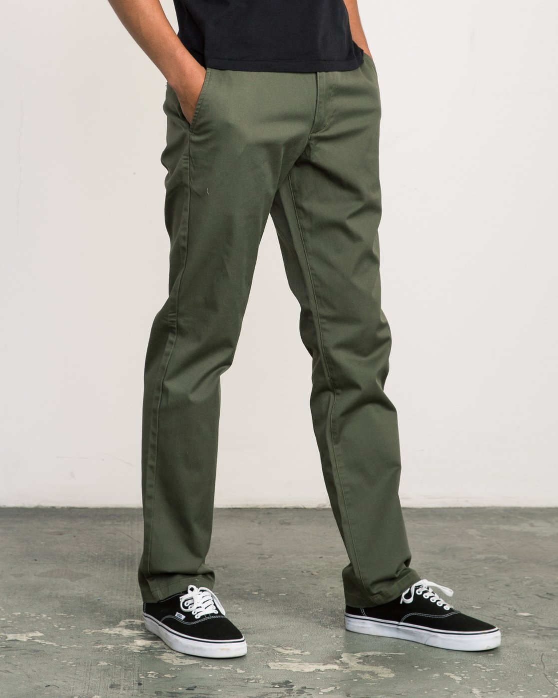 5 Week-end Stretch Pants Green MC303WST RVCA