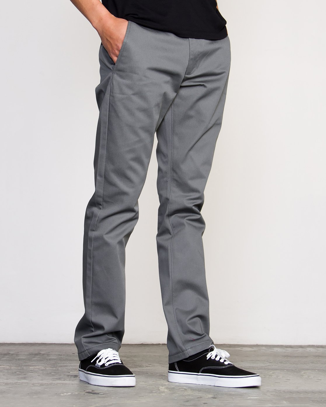 2 Week-end Stretch Pants Grey MC303WST RVCA
