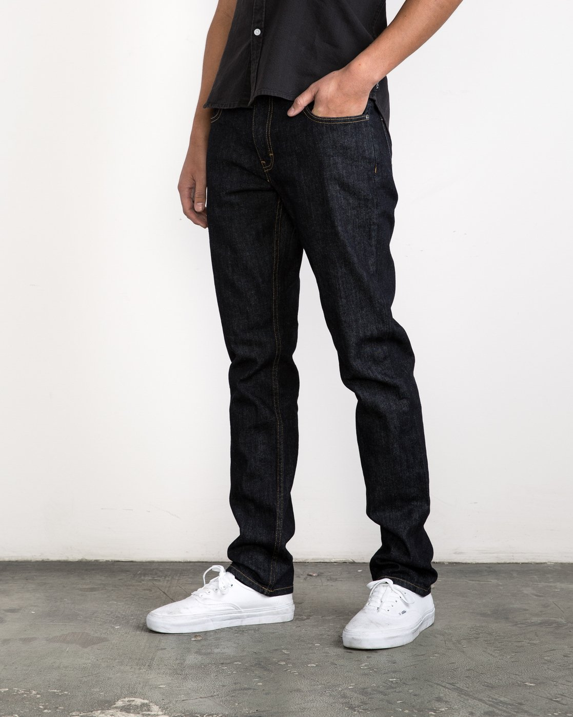1 Daggers Denim Pants Blue MCDP06DA RVCA