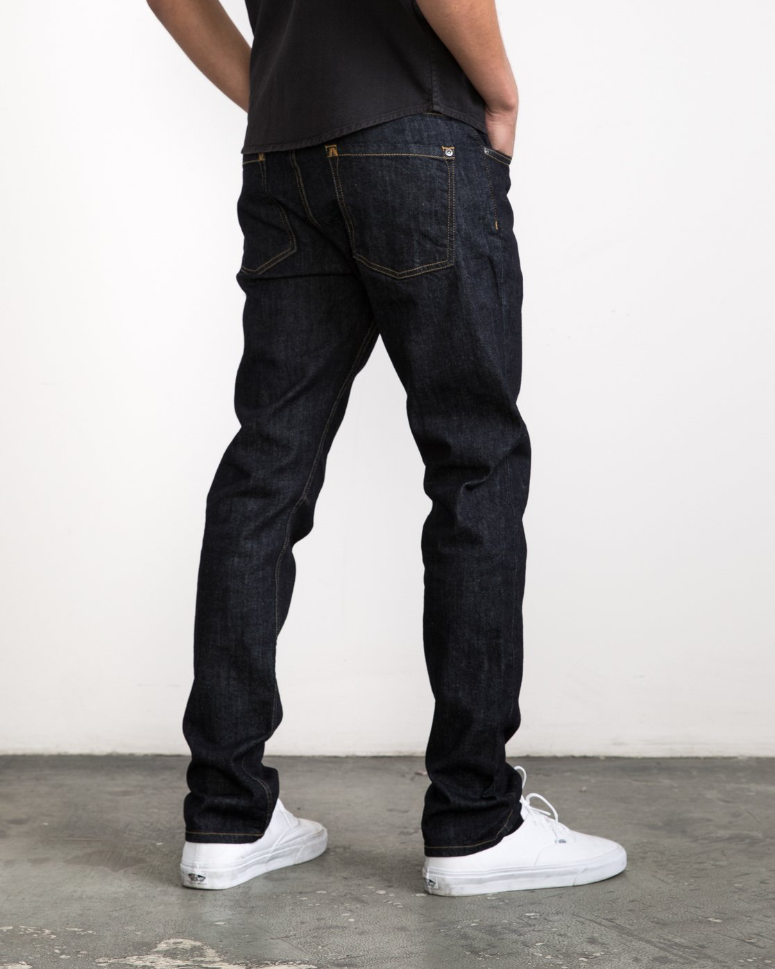 4 Daggers Denim Pants Blue MCDP06DA RVCA