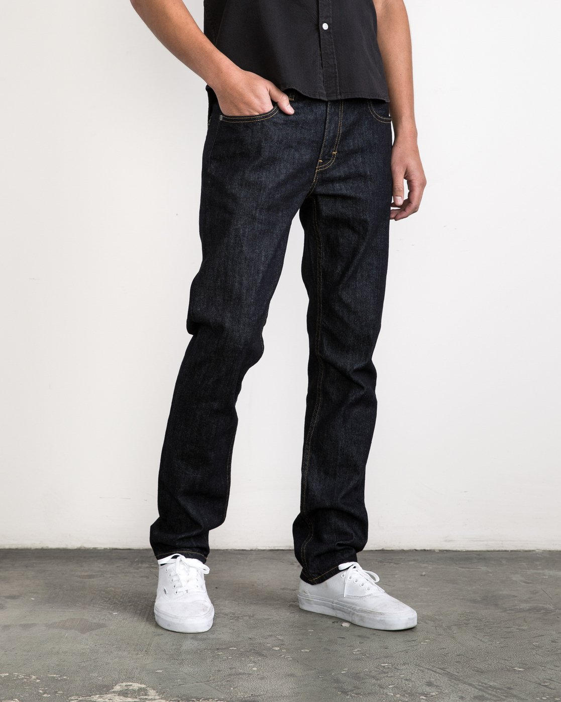 5 Daggers Denim Pants Blue MCDP06DA RVCA