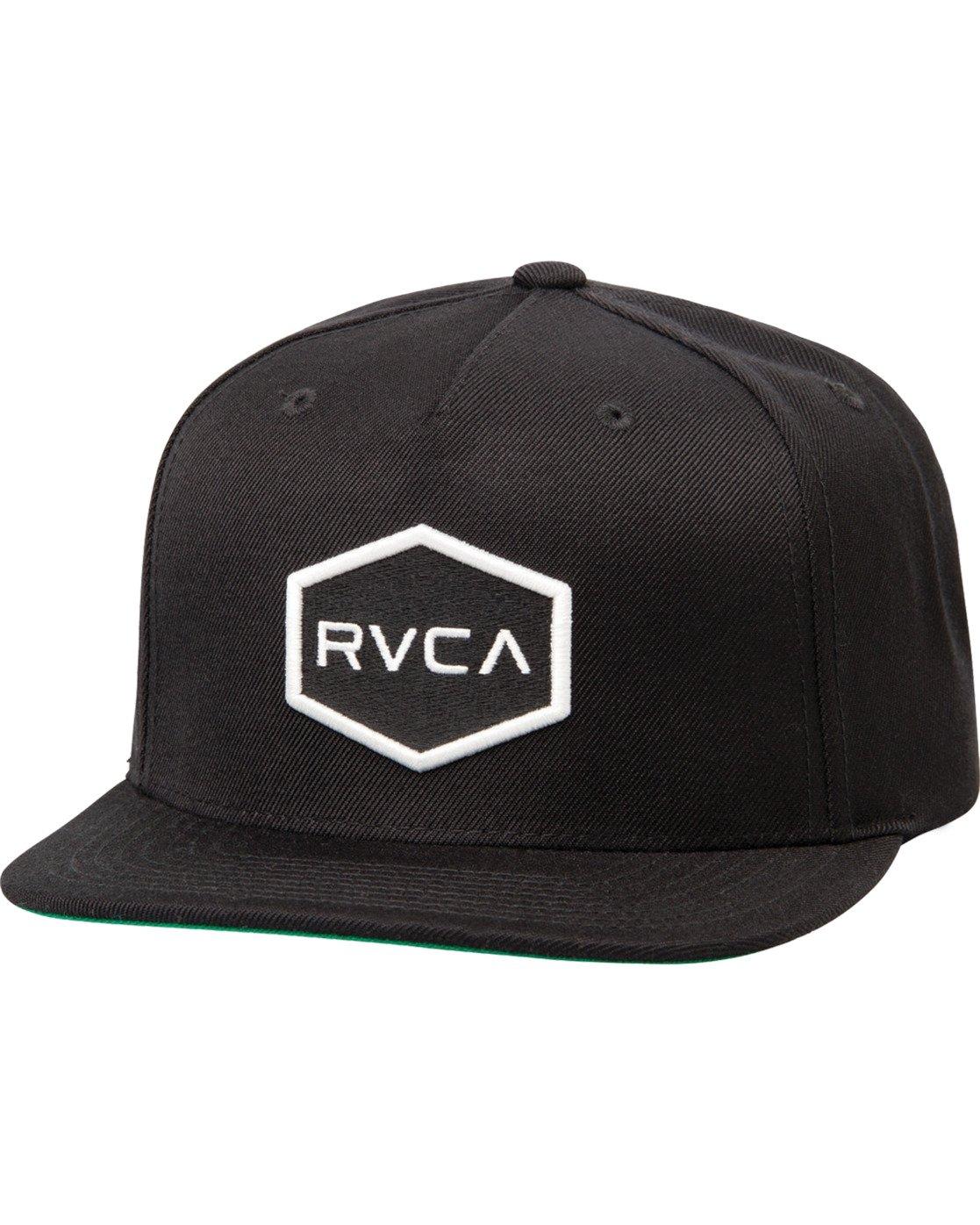 0 Commonwealth Snapback Hat Black MDAHWCWS RVCA