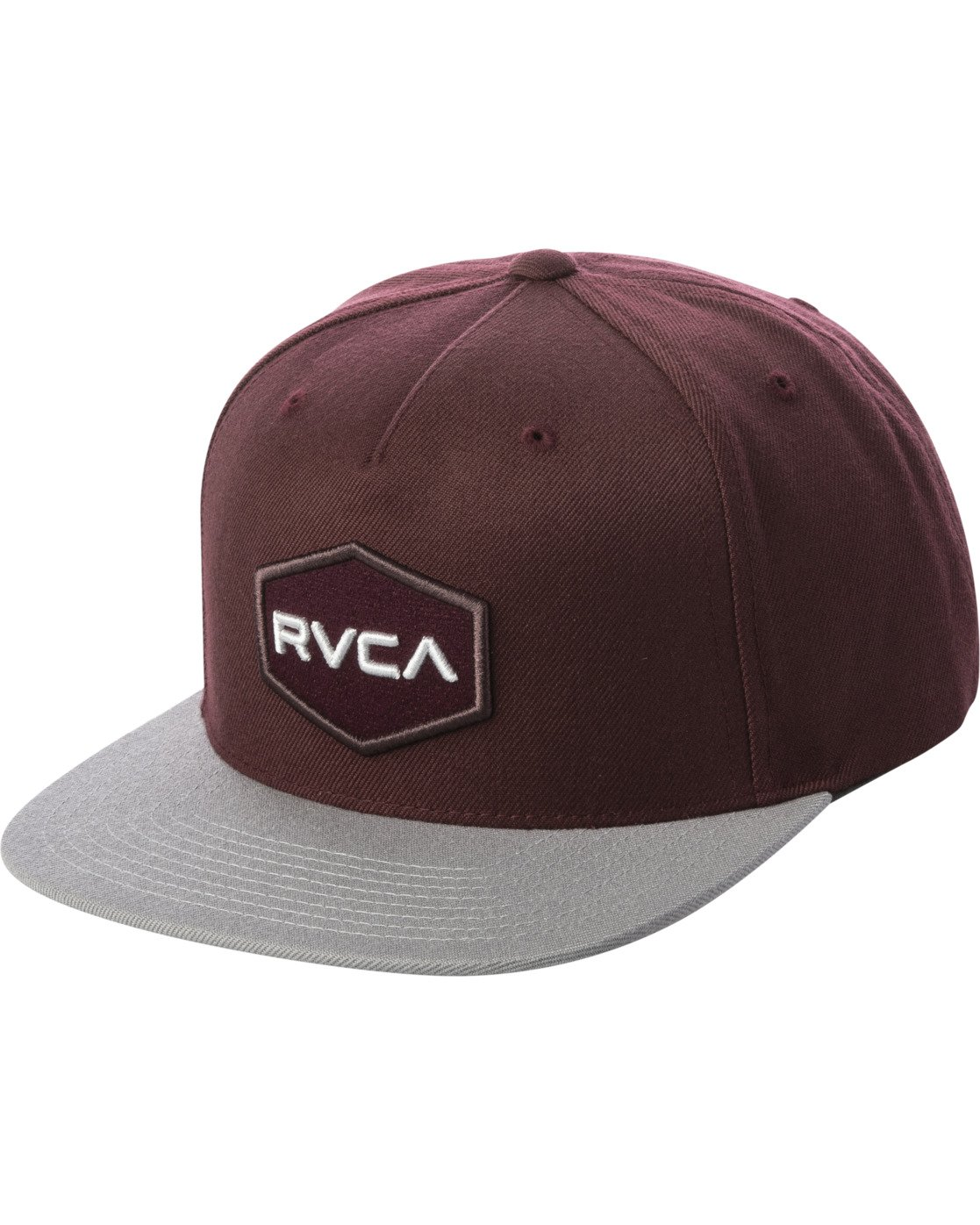 0 COMMONWEALTH SNAPBACK HAT Red MDAHWCWS RVCA