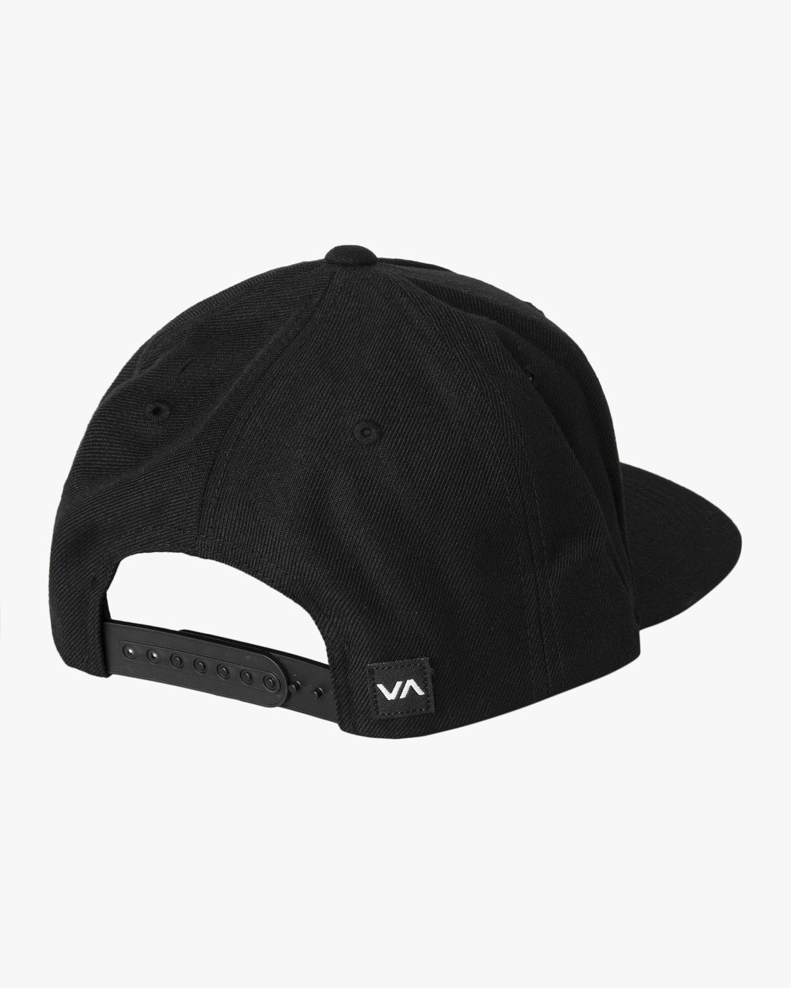 2 Commonwealth Snapback Hat Black MDAHWCWS RVCA