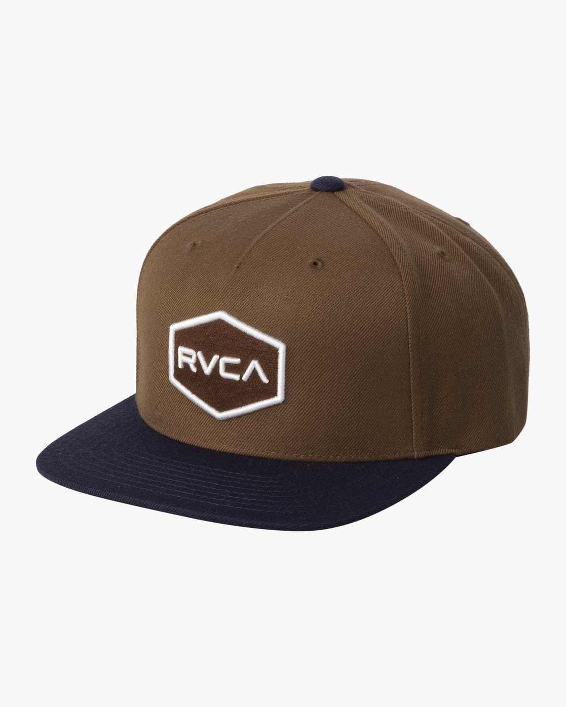 0 COMMONWEALTH SNAPBACK HAT Brown MDAHWCWS RVCA