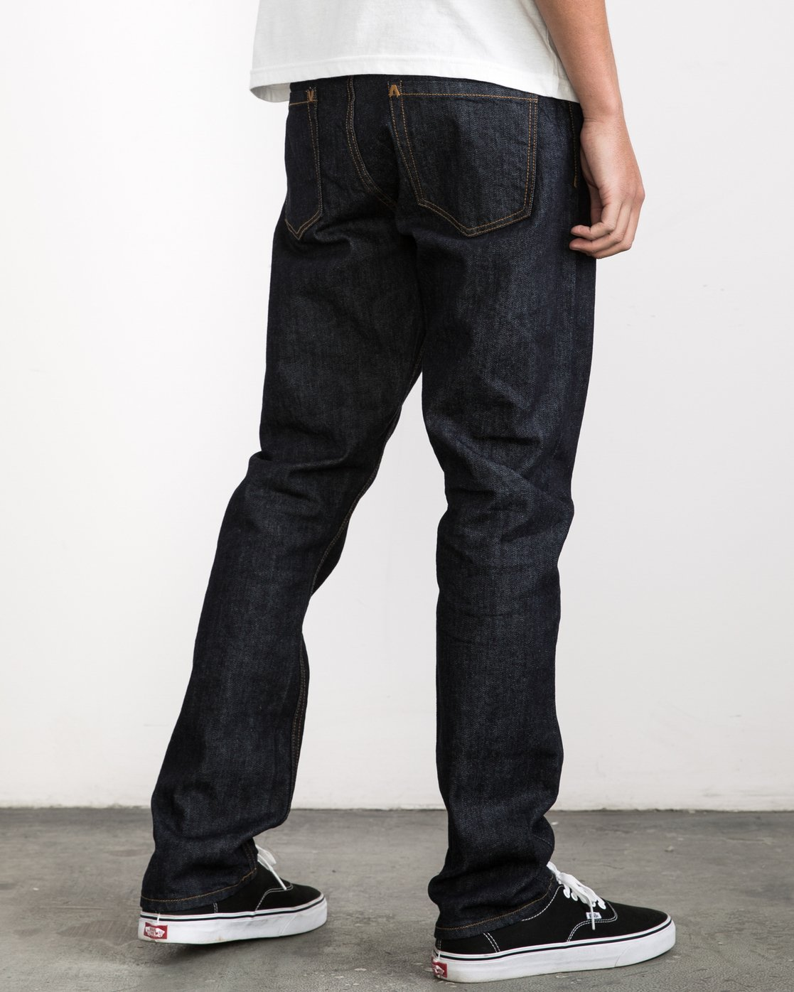 5 Stay RVCA Denim Pants Blue MDDP02ST RVCA