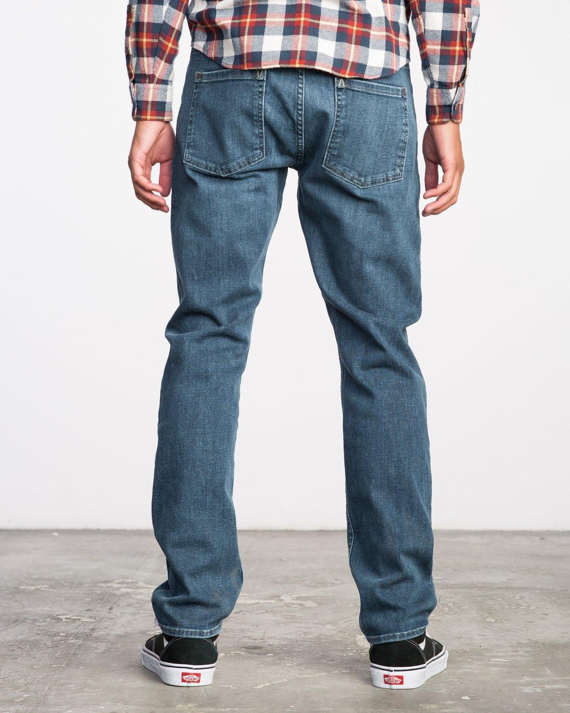 3 Stay RVCA Denim Pants  MDDP02ST RVCA