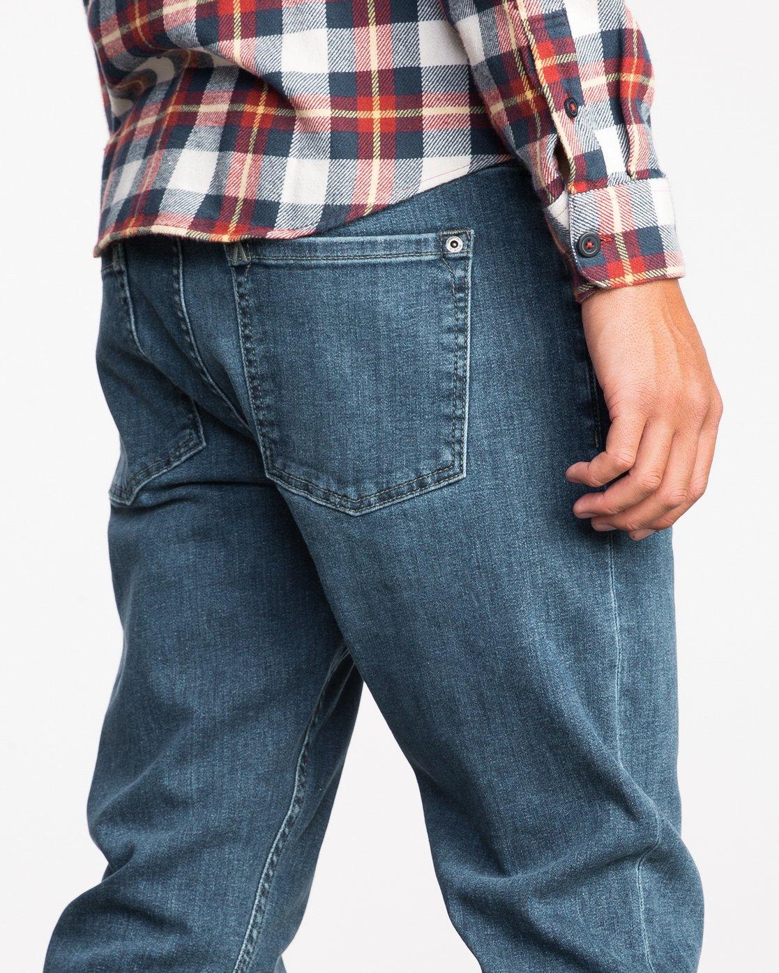 6 Stay RVCA Denim Pants  MDDP02ST RVCA