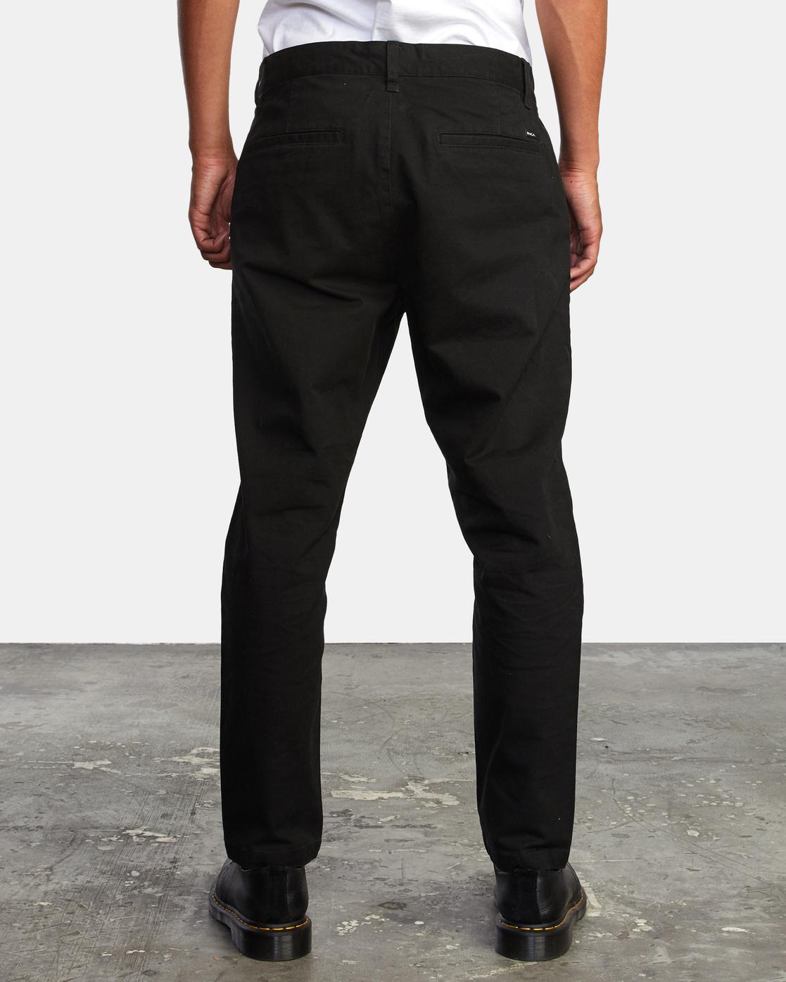 1 HITCHER PANT Black ME303HIT RVCA