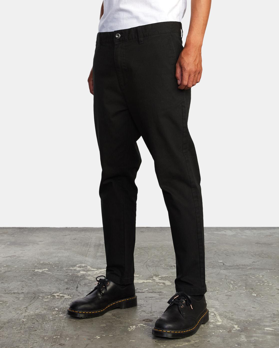 2 HITCHER PANT Black ME303HIT RVCA